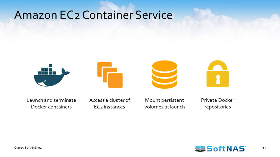 docker persistent storage amazon ec2
