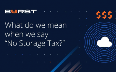 "What do we mean when we say ""No Storage Tax""?"
