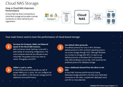cloud nas storage to improve performance