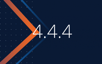 New Maintenance Release 4.4.4 Improves Performance with a No Downtime Guarantee